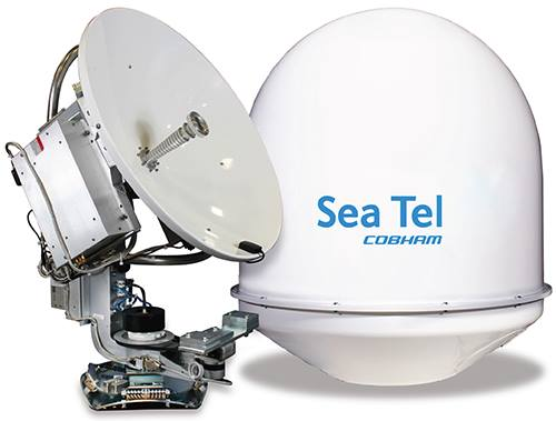 Sea Tel / Cobham antenna hardware